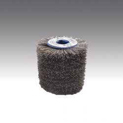 Key way flap mista in acciaio e filo abrasivo